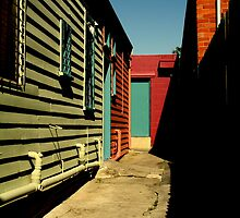 Back Alleyway Williamstown by Camilla