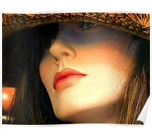 Straw Hat Poster