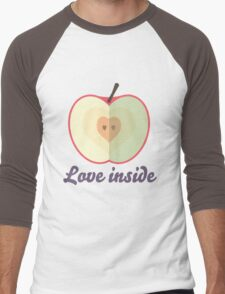 Love inside Men's Baseball ¾ T-Shirt