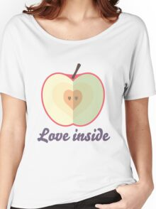 Love inside Women's Relaxed Fit T-Shirt