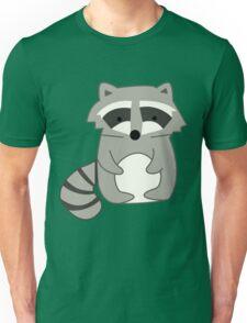 Raccoons Print Unisex T-Shirt
