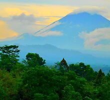 Mount Agung by supergold