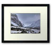 Elbow Pass valley XII Framed Print