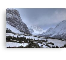 Elbow Pass valley XII Canvas Print
