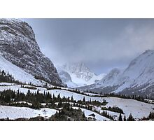 Elbow Pass valley XII Photographic Print