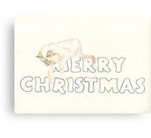 Fleur's Christmas Canvas Print