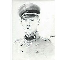 Erwin Rommel Photographic Print