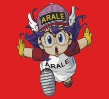 Japanese Anime Manga Arale Norimaki Kids Tee