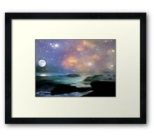 Ocean Magic © Framed Print