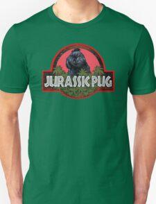 Jurassic Pug Funny Unisex T-Shirt