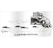 Achille Sirouy Mark Twain Les Aventures de Huck Huckleberry Finn illustration p260 Poster