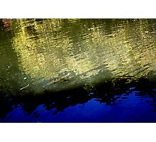 Abstract Reflection Photographic Print