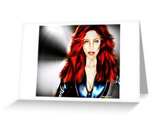 Dark Widow Greeting Card