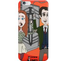 The Librarians as Live Looney Tunes from Raiders of the Lost Ark in the Twilight Zone iPhone Case/Skin