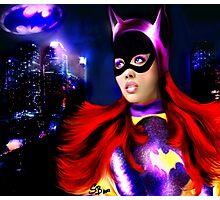 Bat Girl Photographic Print