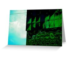 Green Monster Greeting Card