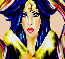 Comic Book Beauty Portraits 2 by Seleus Blelis by loflor73
