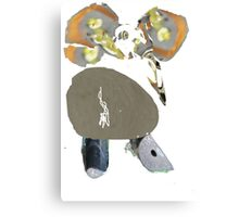 Elly-Fant  the Funky Elephant  Canvas Print