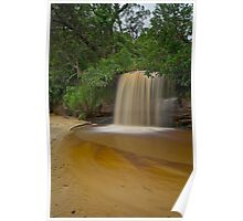 Manly water fall Poster