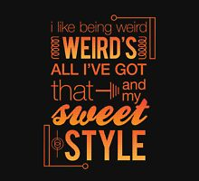 Weirdly Sweet Style Women's Fitted V-Neck T-Shirt