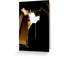 The Towering Inferno Greeting Card