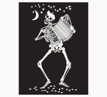 Day of the Dead Skeleton with Accordion by songspeckels