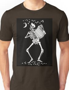 Day of the Dead Skeleton with Accordion T-Shirt