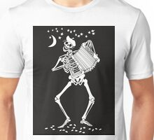 Day of the Dead Skeleton with Accordion Unisex T-Shirt