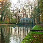 """Path around the """"Mirror Pond"""" by steppeland"""