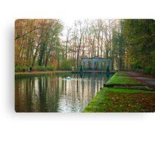 "Path around the ""Mirror Pond"" Canvas Print"