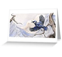 Little Blue Jay Greeting Card