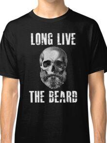 Long Live The Beard Skull Skeleton Classic T-Shirt