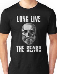 Long Live The Beard Skull Skeleton Unisex T-Shirt