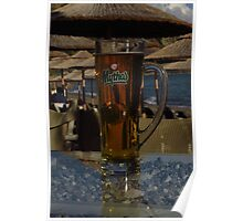 Mythos - Crystal Clear Beer Poster