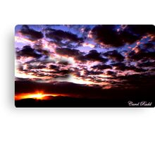 Mead Sunset Canvas Print