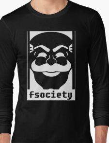 MrRobot TV Series Banksy Fsociety Long Sleeve T-Shirt