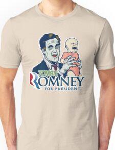 Zombie Romney For President Unisex T-Shirt