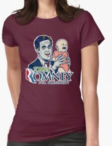 Zombie Romney For President Womens Fitted T-Shirt