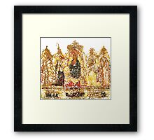 Fiat voluntas tua Framed Print