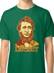 Henry David Thoreau Disobey Classic T-Shirt