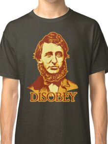 Henry David Thoreau Disobey Classic T-Shirt