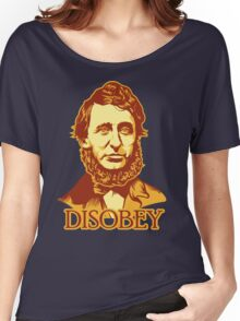 Henry David Thoreau Disobey Women's Relaxed Fit T-Shirt
