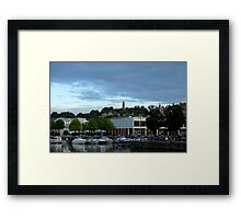 Cabot Tower from the Harbour Framed Print