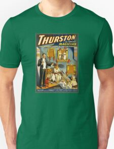 Thurston the great magician 1914 Vintage Poster Unisex T-Shirt