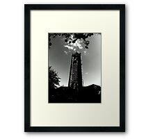 Cabot Tower Framed Print