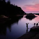 Fishermen at work by Sudheerhegde