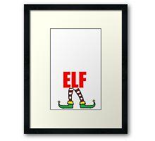 DADDY ELF Framed Print