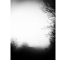 Fog Walkers Photographic Print