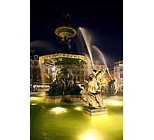 Lisbon Fountain Photographic Print