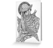 Holy Owl Greeting Card